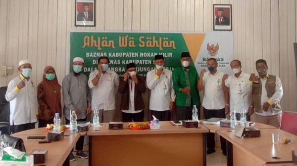 Belajar Pengumpulan Zakat, Baznas Rokan Hilir Sambangi Baznas Kabupaten Siak