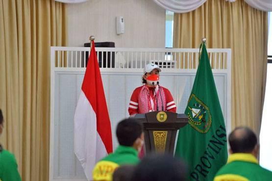 Terima Bonus Dari Pemprov Riau, Ini Motivasi Leani Ratri Oktila