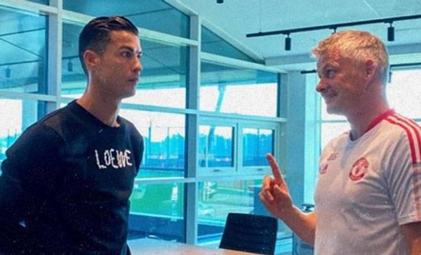 Terungkap, Ini Alasan Solskjaer Coret Ronaldo dari Skuad Vs West Ham
