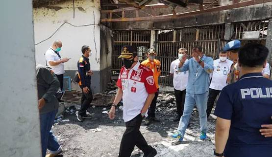 Polisi Temukan Dugaan Titik Api Penyebab Kebakaran di Lapas Tangerang