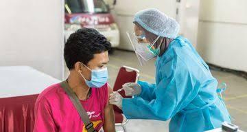 Vaksinasi Covid-19 Dosis Pertama di Pelalawan Capai 45.143