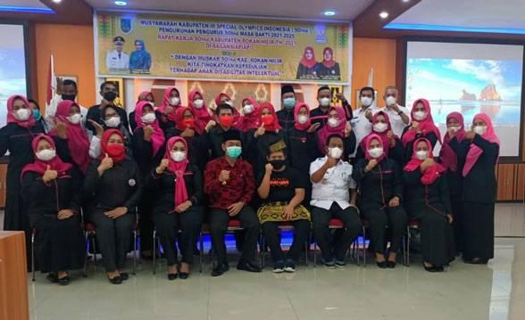 Ketua SOIna Riau Kukuhkan Pengurus SOIna Rohil Masa Bakti 2021-2025