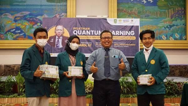 UMRI Gelar Pelatihan Quantum Learning Untuk Mahasiswa Bidik Misi