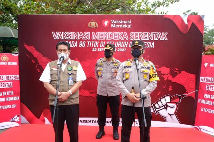 Polda Riau Gandeng Perguruan Tinggi Siapkan 9000 Vaksin dan 1500 Paket Bansos
