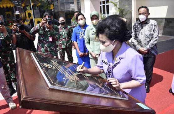 Ketum Dharma Pertiwi Resmikan Gedung Daycare dan Paud Holistik Integratif di Mabes TNI
