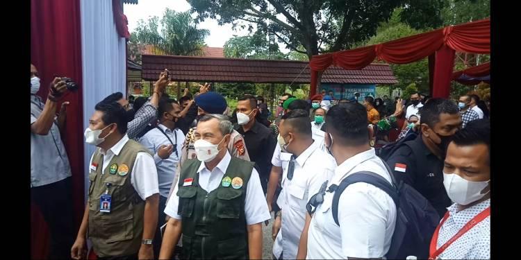 Audiensi Ditolak, Belasan Mahasiswa Unri Hadang Forkopimda, Gubernur Riau Tak Respon
