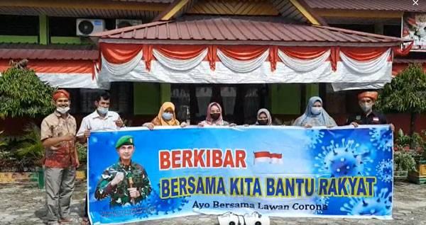 Penggawa LAM Riau Gelar Fogging Disinfektan di Masjid Al-Ikhlas dan SMPN 22 Tangkerang Utara