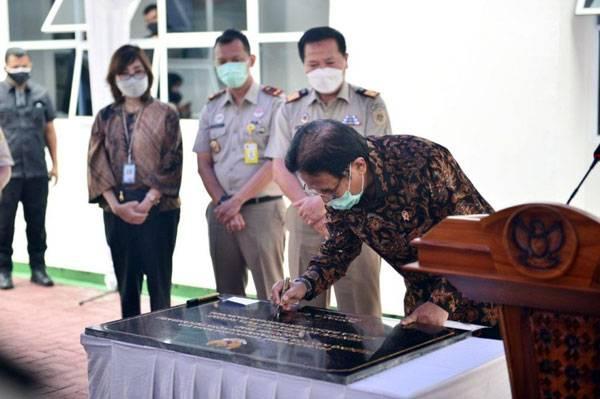 Resmikan Kantor ATR/BPN Kota Pekanbaru, Menteri Ingin Sengketa Tanah Dituntaskan