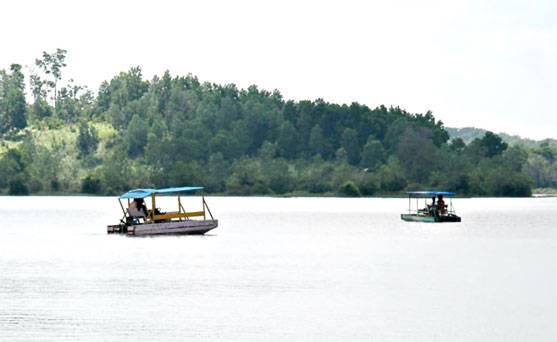 PPKM Mulai Longgar, Objek Wisata Danau Buatan Kembali Ramai Dikunjungi