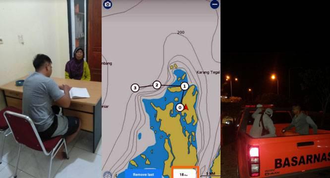 Longboat Mati Mesin di Perairan Pulau Dua, Personel SPKKL Tual Lakukan Pencarian