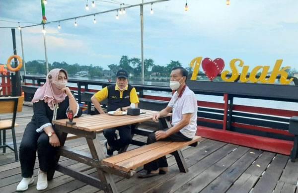 Kota Siak Sri Indrapura Miliki Pusat Kuliner di Tepian Sungai