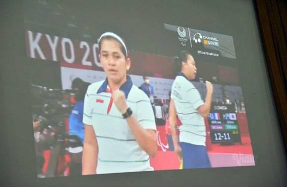 Besok, Kedatangan Leani Atlet Paralimpiade Tokyo di Pekanbaru Akan Diarak