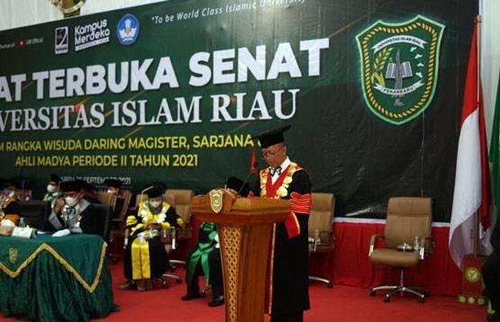 Universitas Islam Riau Wisuda 2.034 Mahasiswa