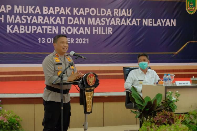 Ajak Forkopimda dan Stake Holder Satukan Visi, Kapolda Riau: Mari Sejahterakan Masyarakat Dongkrak Sektor Perekonomian