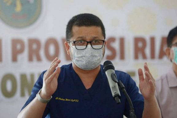 Jubir Satgas Covid-19 Riau Berharap Kondisi Masyarakat Sadar Prokes Dipertahankan