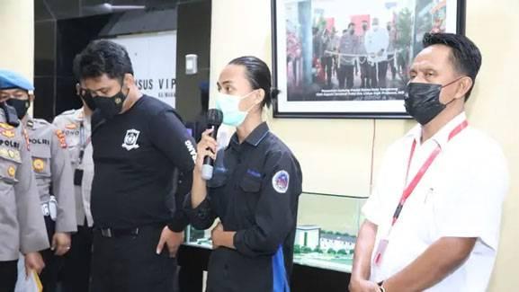 Kondisi Terkini Mahasiswa yang Dibanting Oknum Polisi Saat Demo di Tangerang