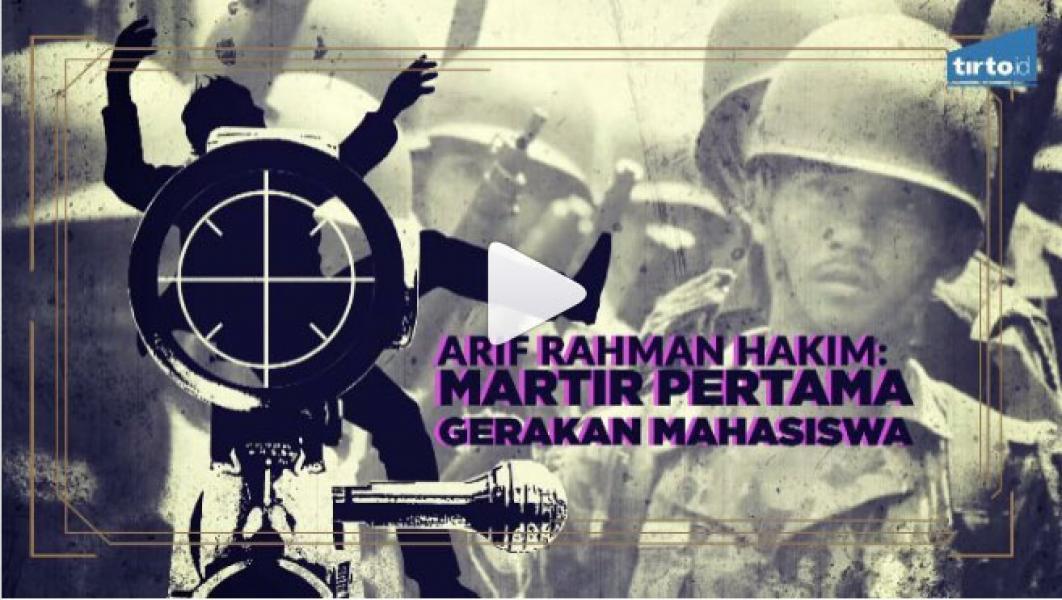 Tertembaknya Arif Rahman Hakim Mempercepat Pelengseran Sukarno