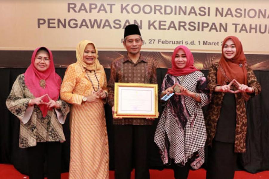 Pemko Pekanbaru Raih Penghargaan Bidang  Kearsipan Tingkat Masional