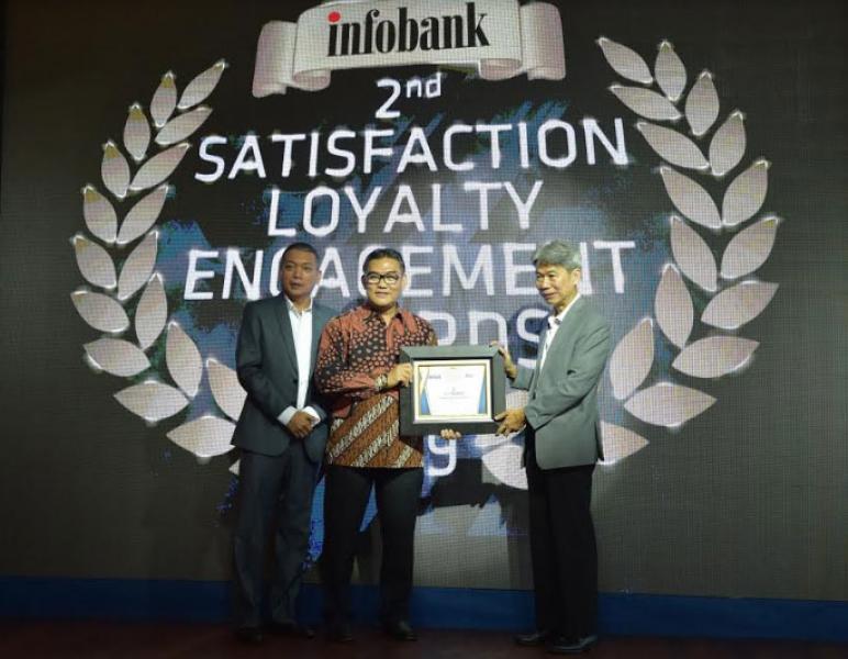 Bank Riau Kepri Sabet 3 Penghargaan Infobank 2nd Satisfaction Loyalty Engagement Award 2019