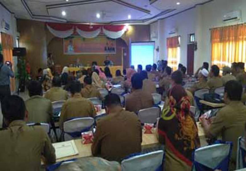Percepat Program Kota Layak Anak, Dinsos P3A Rohul Sosialisasikan PATBM