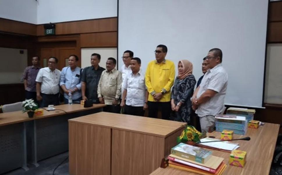 DPRD Kabupaten Bungo Stuband Masalah Limbah ke DPRD Riau