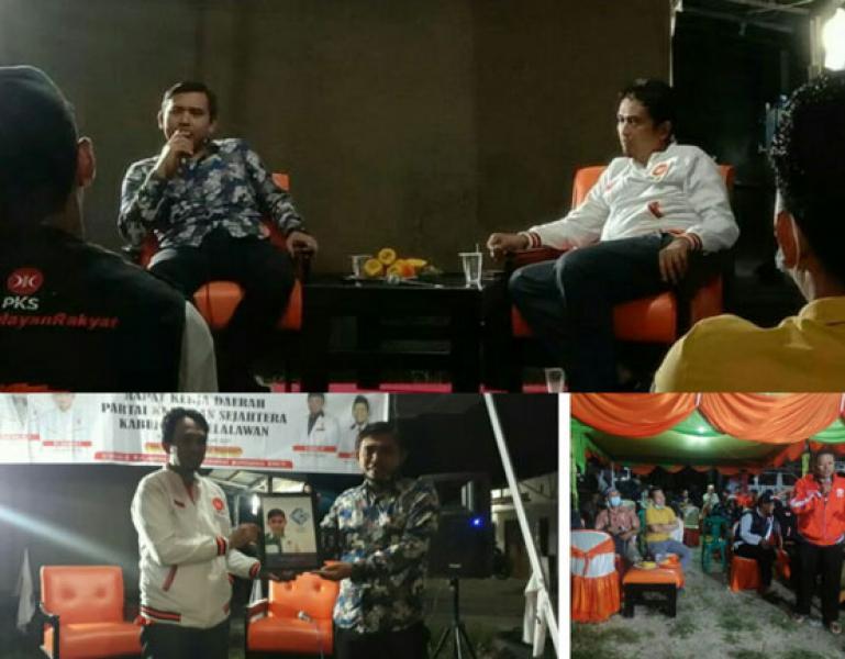 Gandeng PWI, Dialog Kedaerahan Ditaja PKS Pelalawan Banjir Pertanyaan Krusial