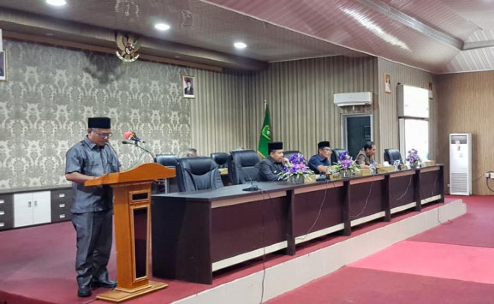 DPRD Meranti Apresiasi LKPJ Bupati Tahun 2018, Khususnya Akuntabilitas Pengelolaan Keuangan Daerah