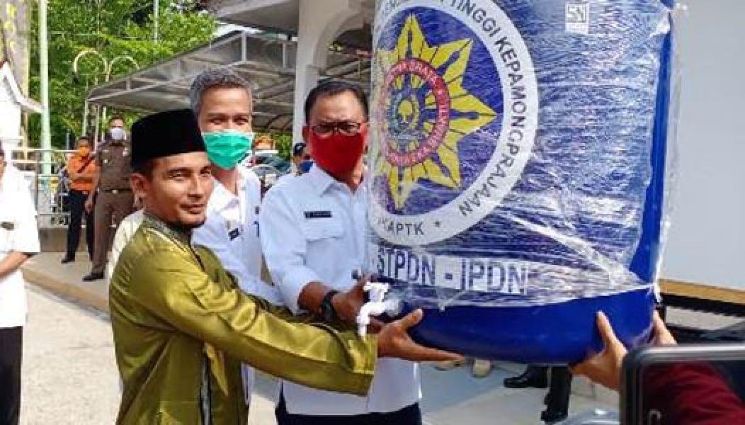 Donasi Penanganan Covid-19 Terus Mengalir, Bupati Rohil Ucapkan Terima Kasih