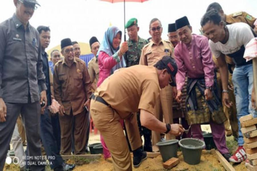 Tersebar di 13 Kecamatan, Pemkab Rohil Bangun 103 RLH untuk Warga Miskin Tahun Ini