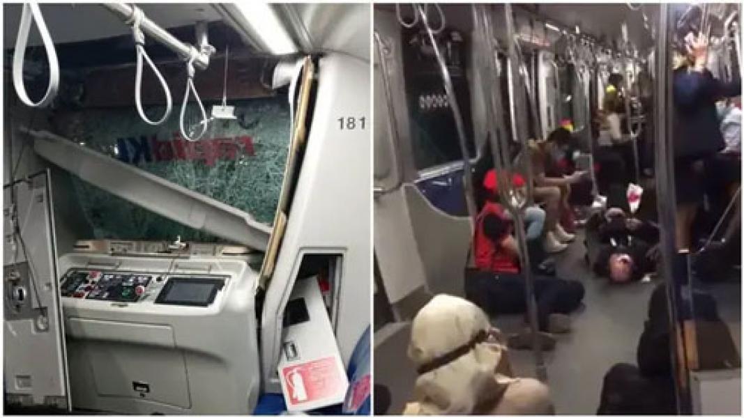 2 Kereta LRT di Malaysia Tabrakan, Lebih dari 210 Orang Luka-Luka