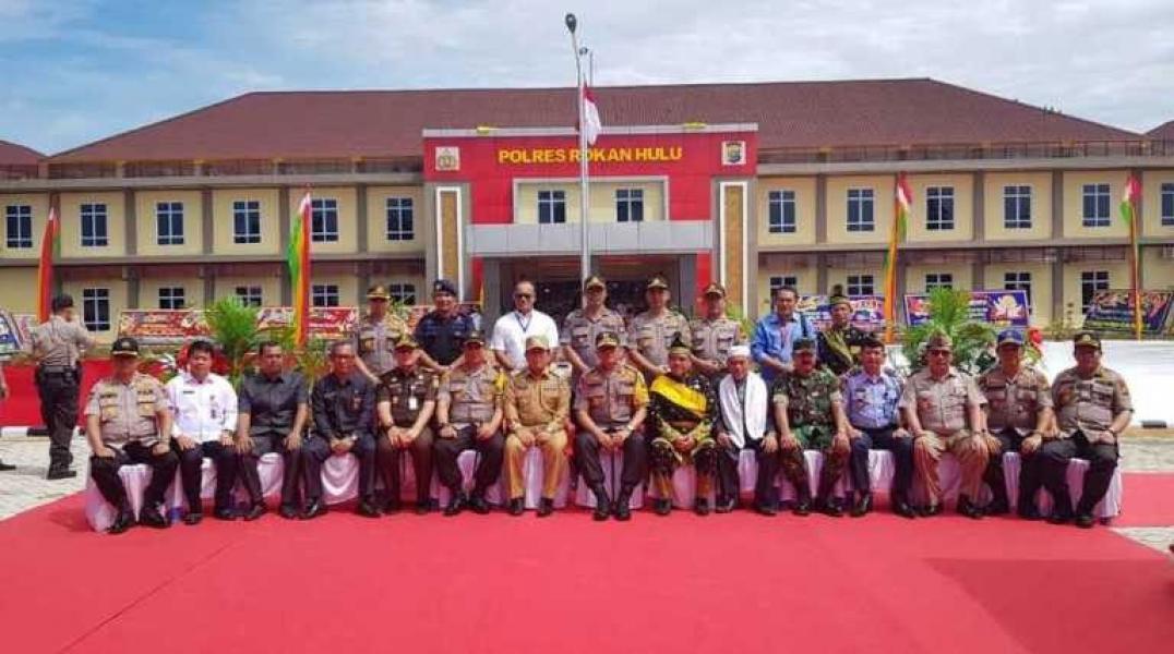 Resmikan Kantor Baru, Kapolda Riau: Semangat Personel Polres Rohul Juga Harus Baru