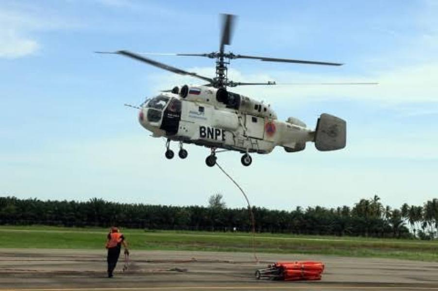 BPBD Riau: 5 Helikopter dan 1 Pesawat Patroli Masih Siaga atasi Karhutla