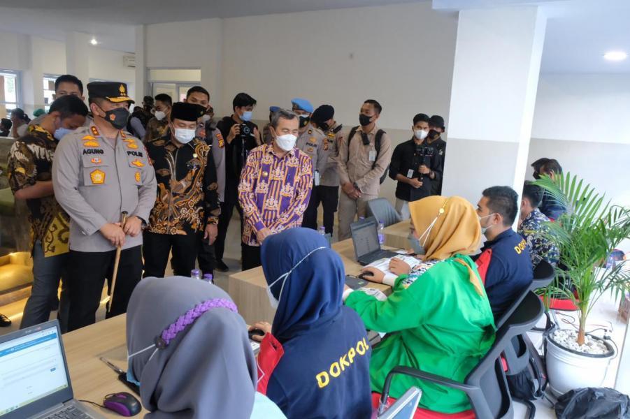 Resmikan Vaksin Center, Kapolda Riau : Penanganan Covid-19 Harus Dikelola Dengan Benar