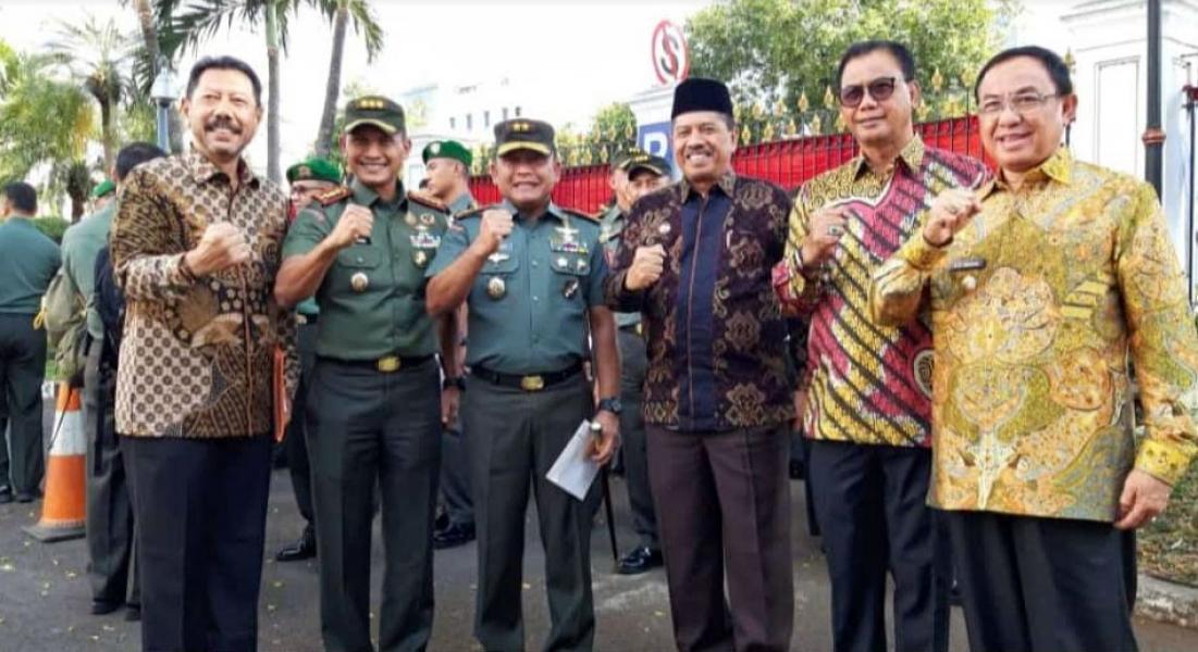 Bupati Suyatno Penuhi Undangan Presiden