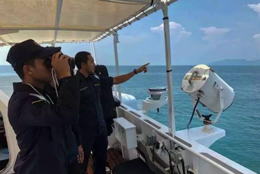 Malaysia Tahan 6 Kapal China di Perairan Johor, 60 Orang Ditangkap