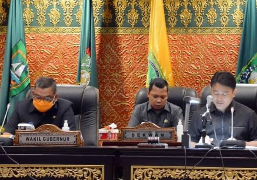 Calon Pimpinan DPRD Riau dari Fraksi Golkar Diumumkan