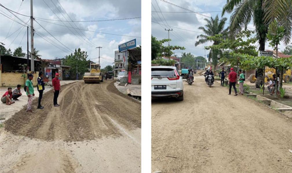 Jalan Ahmad Yani Sukarukun Diperbaiki dan Kembali Mulus, 2021 Kembali Dilanjutkan