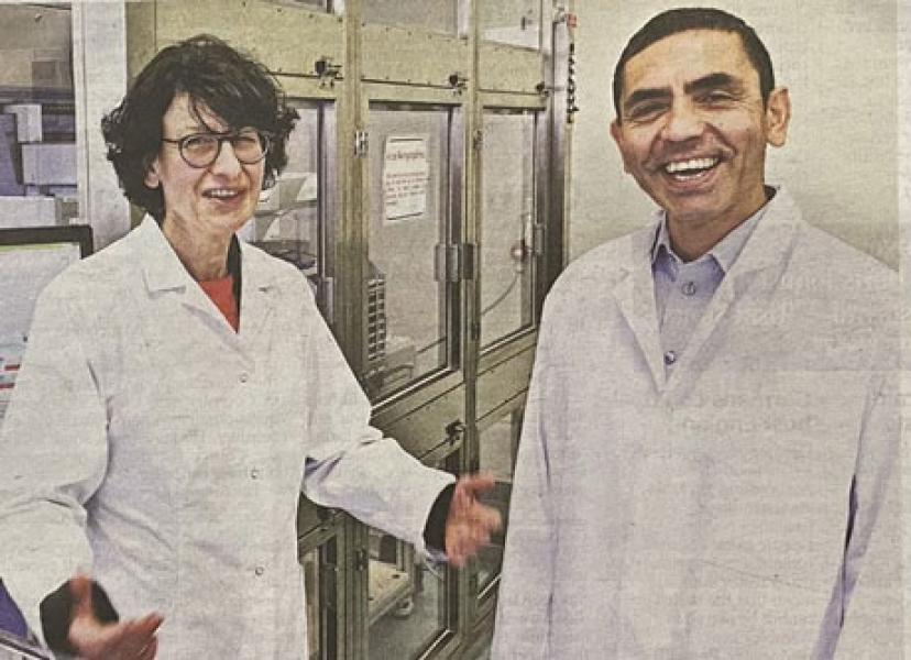 Suami Istri Imigran Turki di Balik Vaksin Covid-19 Pfizer