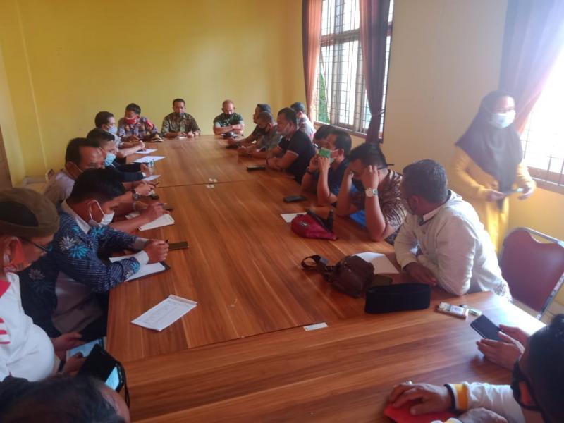 Kapolsek Pangkalan Kuras ikuti Rapat Koordinasi Untuk Persiapan Pilkada Pelalawan tahun 2020