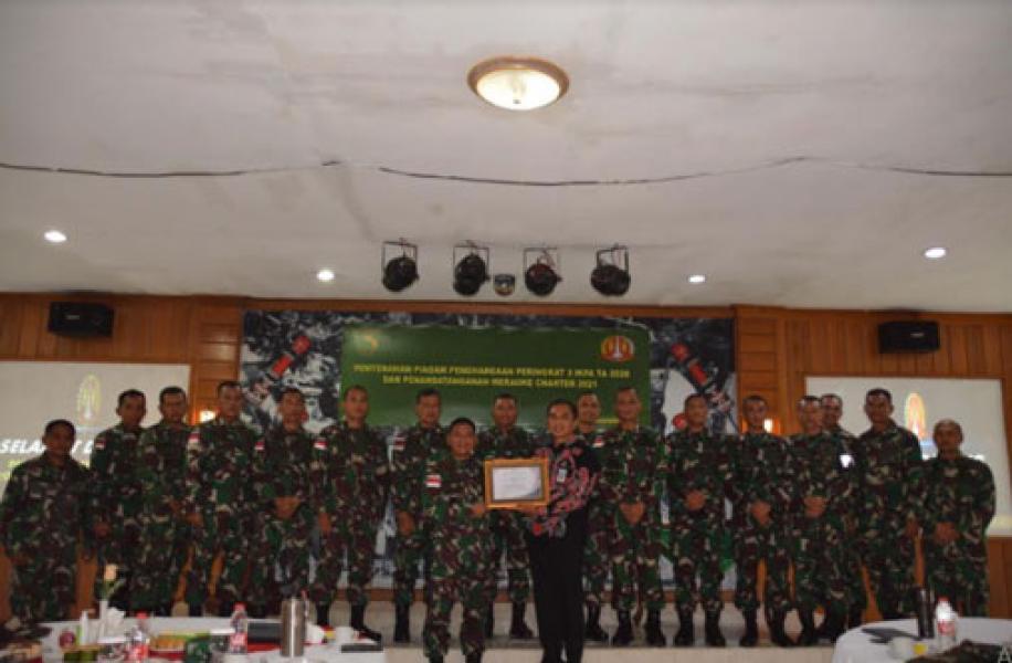 Korem 174 Merauke Raih Peringkat Tiga IKPA Kabupaten Merauke