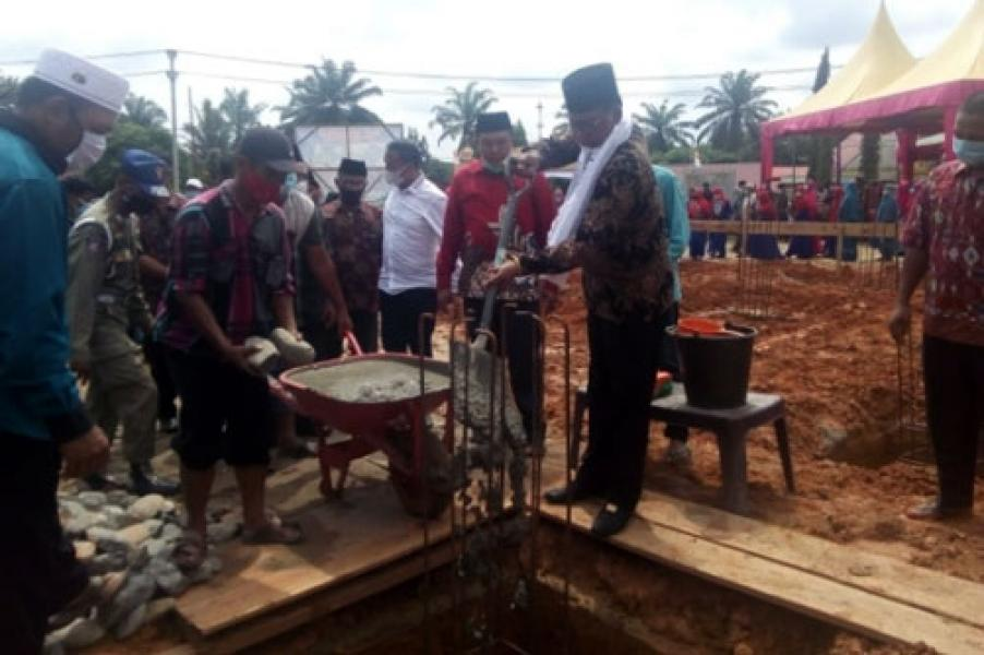Pasca Cuti Pilkada, Bupati Suyatno Kunker ke Kepenghuluan Bakti Makmur